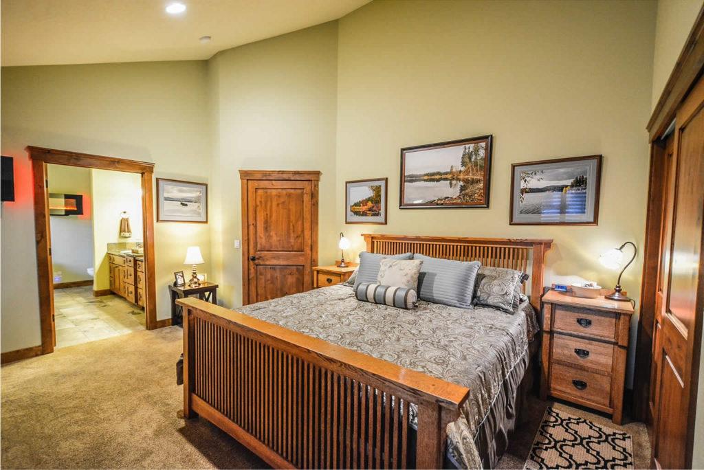 Handicap bedroom design