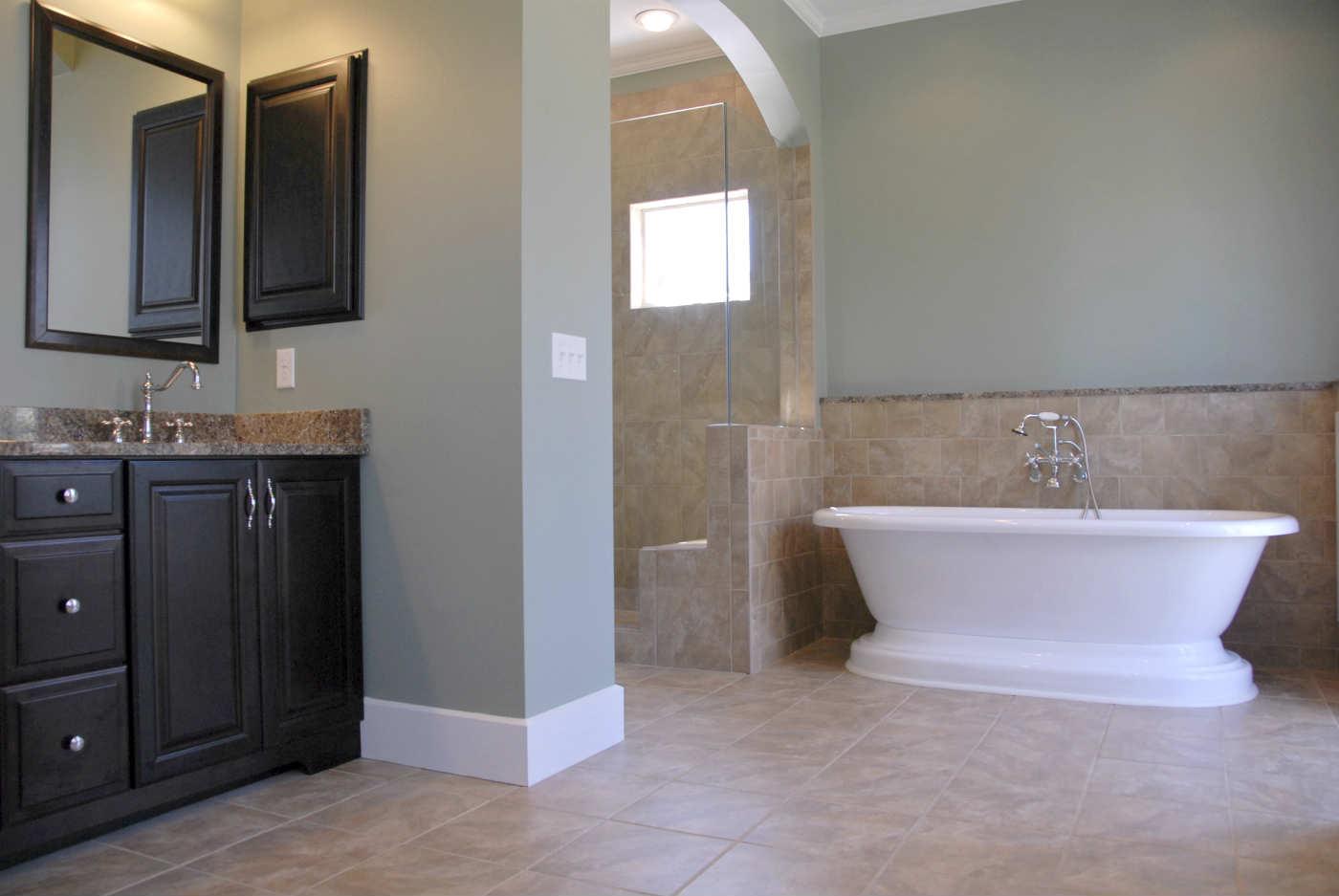 After - Hyde Park Bathroom remodel
