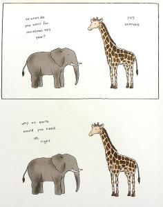 Liz-Climo-Giraffe-Scarves
