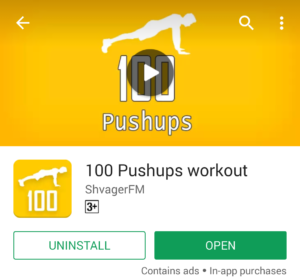 100 Push-Ups App