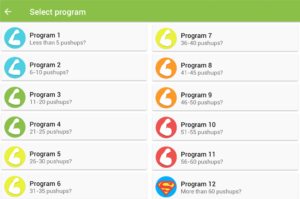 100 Push-Ups Programs 1-12
