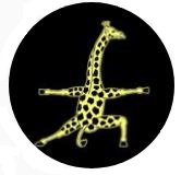 6 foot 8 - Giraffe Athletic Logo