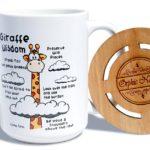 Giraffe Wisdom Mug-2
