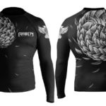 raven fightwear rash guard pangolin