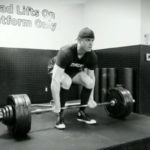 6 foot 9 power lifter deadlift bottom