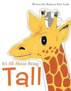 about being tall - book cover