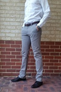 2tall slim fit chinos front