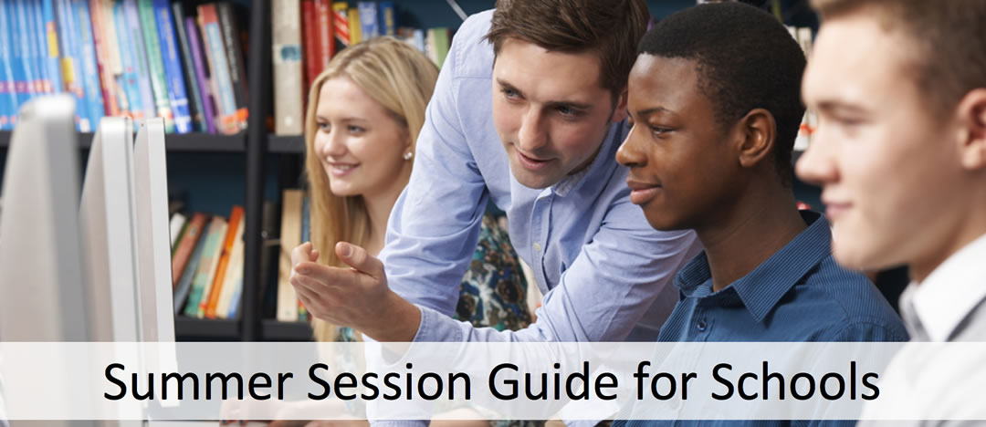 summer session guide for schools