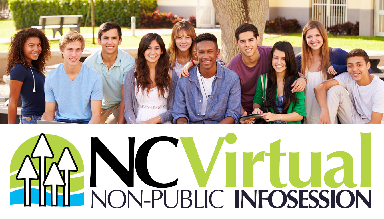 NC Virtual Non Public Infosession, group of teens