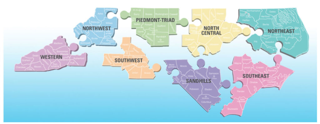 Regional Network Map
