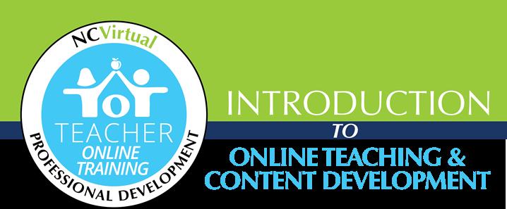 Teacher online training banner