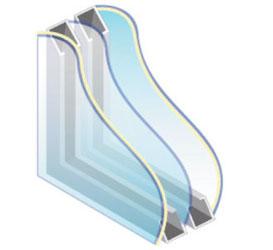 Tripple Pane Glass