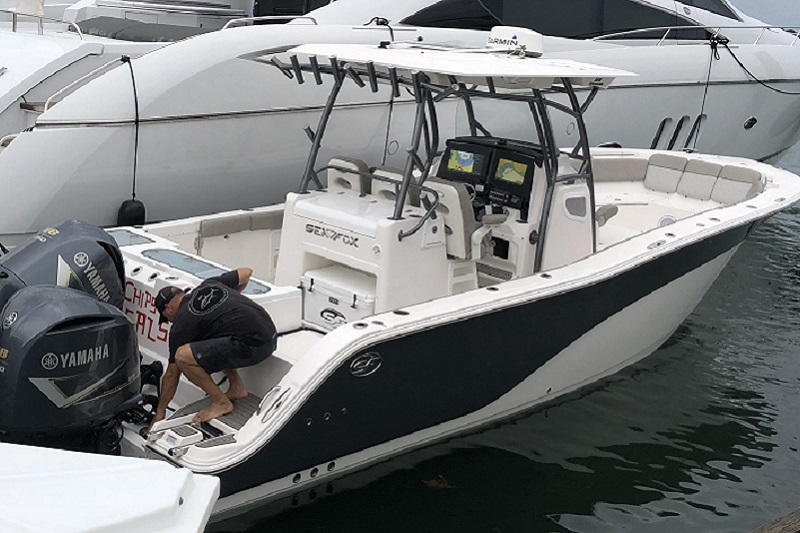 Sea Fox 32' Water Time Charter