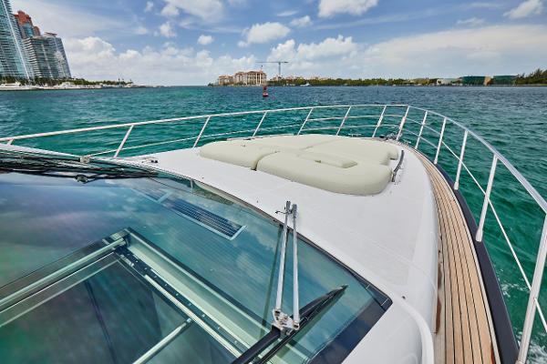 Ferretti 60' Water Time Charter Miami