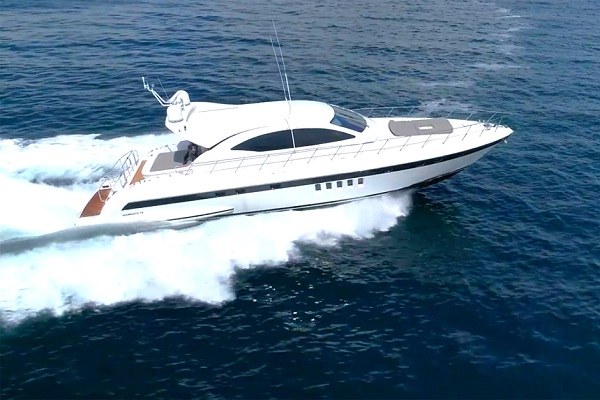 72' Mangusta WaterTime Charter
