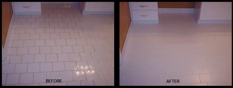 Recolor Bathroom Floor Grout
