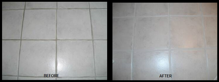 Grout Color without Grout Stain