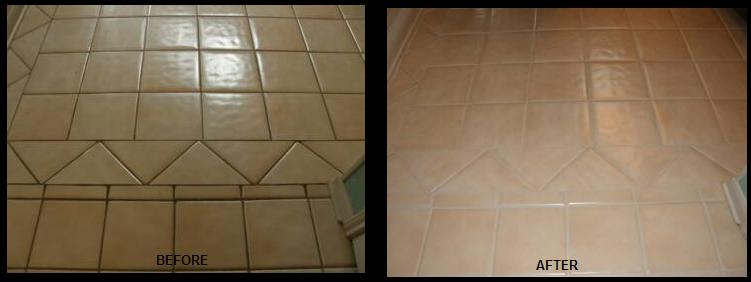 Commercial Tile Grout Repair