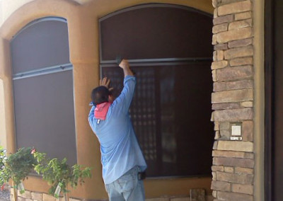 RJ Sunscreen Installation