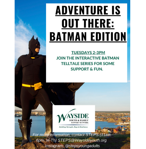 Adventure Is Out There: Batman Edition