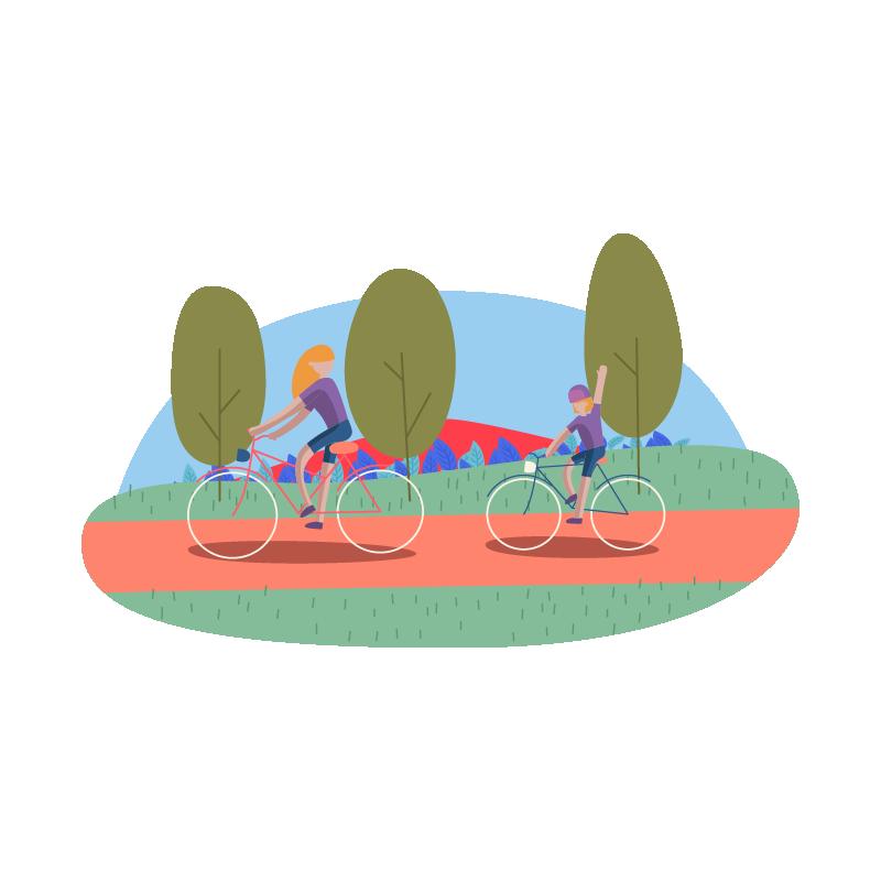 X Tech Knowledge - People riding bike