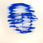 Transcendence - Blue on White
