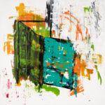 Transcendence - Orange & Green