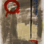 Transcendence - Red Circle & Black Line