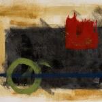 Transcendence - Red Square & Blue Line