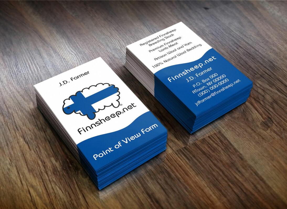 finnsheep business cards