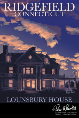Lounsberry House painting