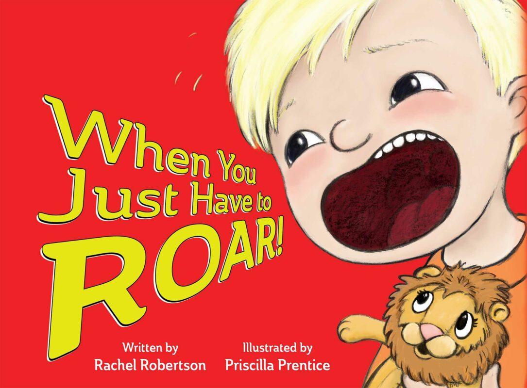 little boy roaring