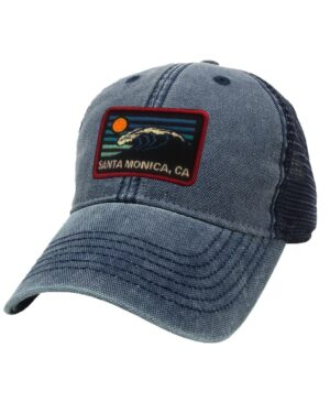Sand 'n Surf Santa Monica California Old Fashion tracker Black Hat