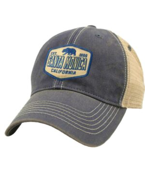 Sand 'n Surf Santa Monica California Old Fashion tracker NavyHat