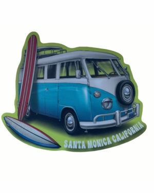 Santa Monica California Vinyl Sticker