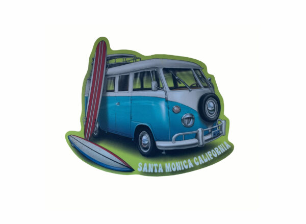 Santa Monica California Vinyl Sticker