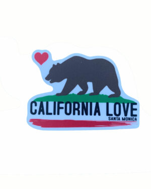 Sand 'n Surf Sticker - Santa Monica California California Love