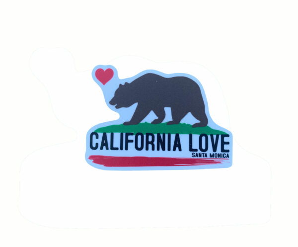 Sand 'n Surf Sticker - Santa Monica California California Love