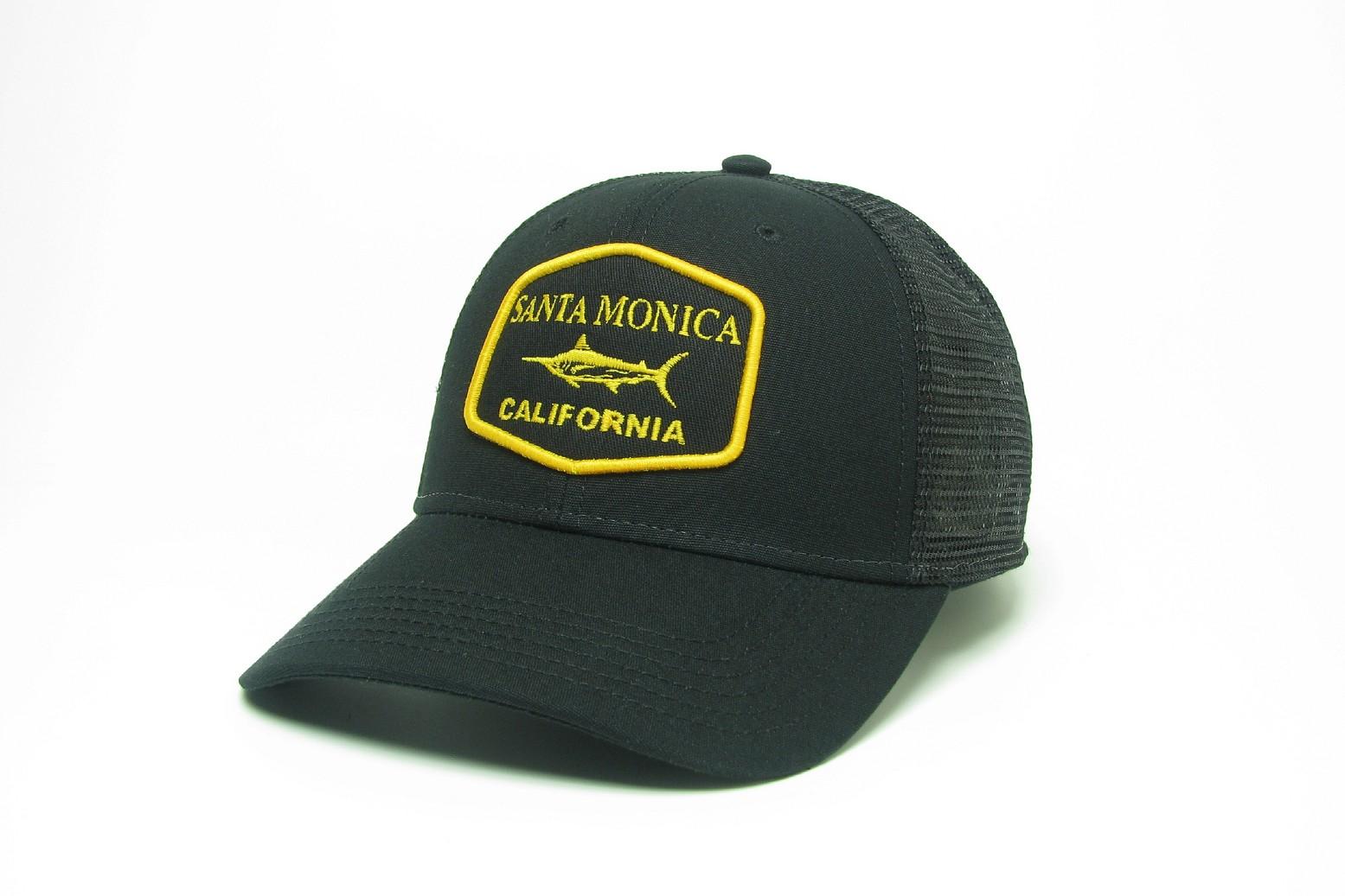 Black Trucker MPS with Santa Monica Marlin