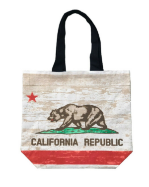 Santa-Monica-Califonia-Republic-Canvas-Tote-Bag