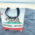 Santa-Monica-Califonia-Republic-Canvas-Tote-Bag