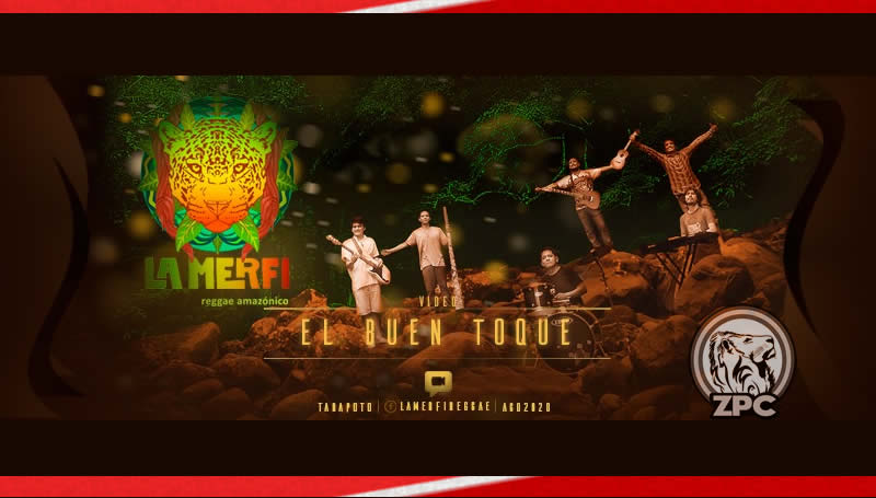 La Merfi y su reggae promueven selva peruana