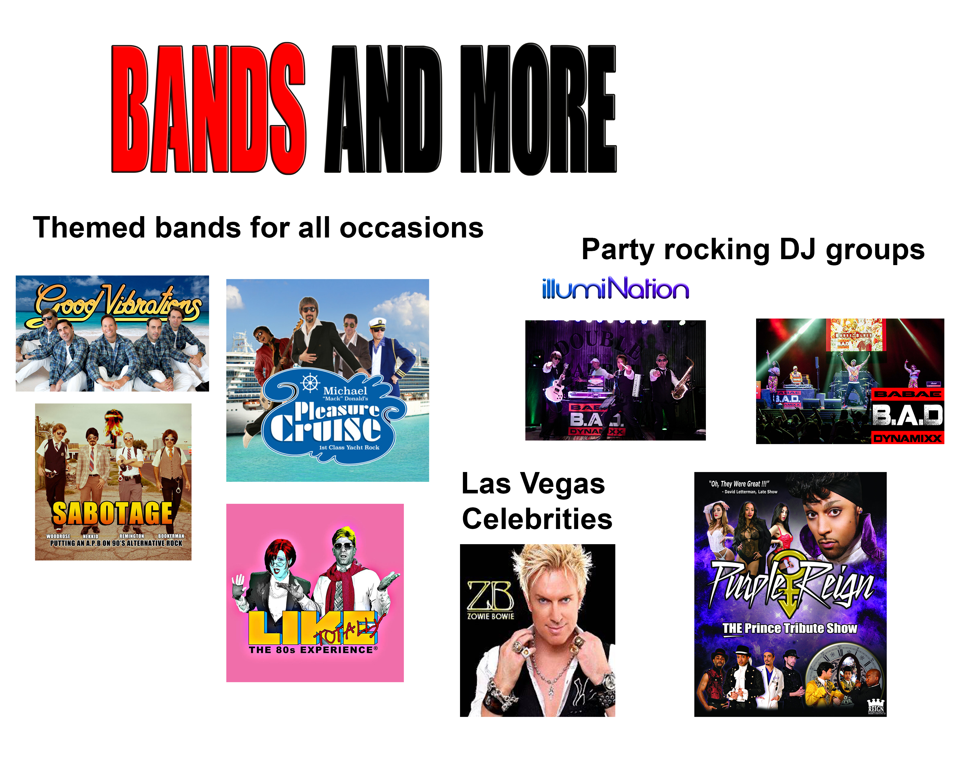 Bands and More