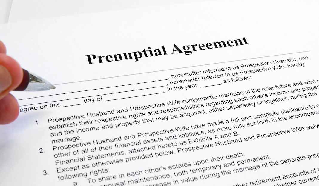 Read this before you sign a prenup postnup Anton Castro