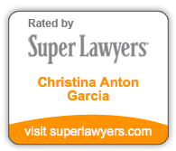 Super Lawyers Christina Anton Garcia