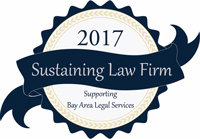 2017 Sustaining Law Firm Badge