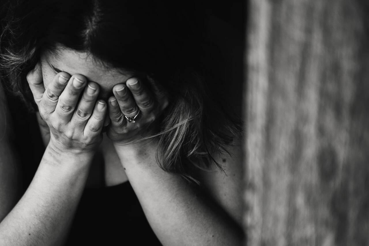 photo of anxious women