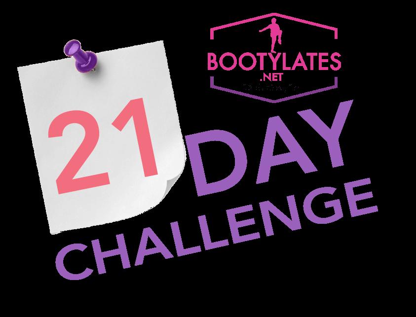 21-Day Challenge Bootylates logo