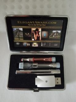 Duo case with full vape kit