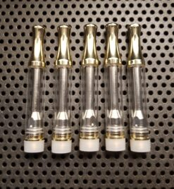 NXC4 glass gold 5pk 510 vape cartridge